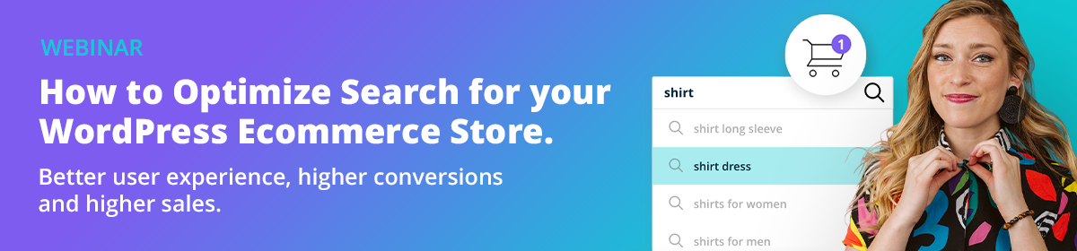 How to optimize search for your WordPress eCommerce store