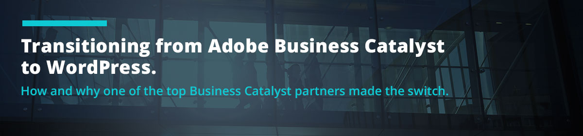 Transitioning from Adobe Business Catalyst to WordPress