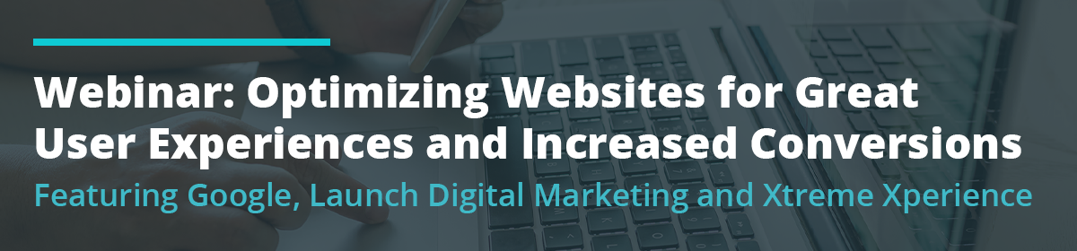 Optimizing Websites for Great User Experiences and Increased Conversions