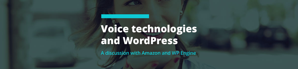 Voice Technologies & WordPress