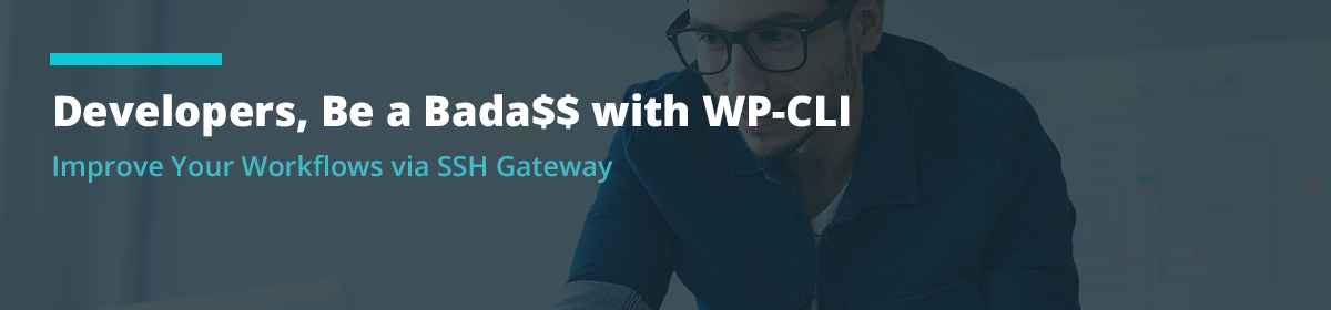 Developers, Be a Bada$$ with WP-CLI